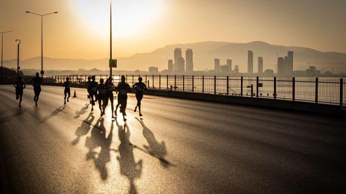 Traffic and transportation measures were taken for marathon izmir