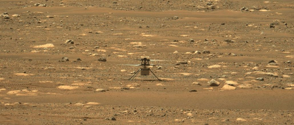 mars helicopter ingenuity made its first flight