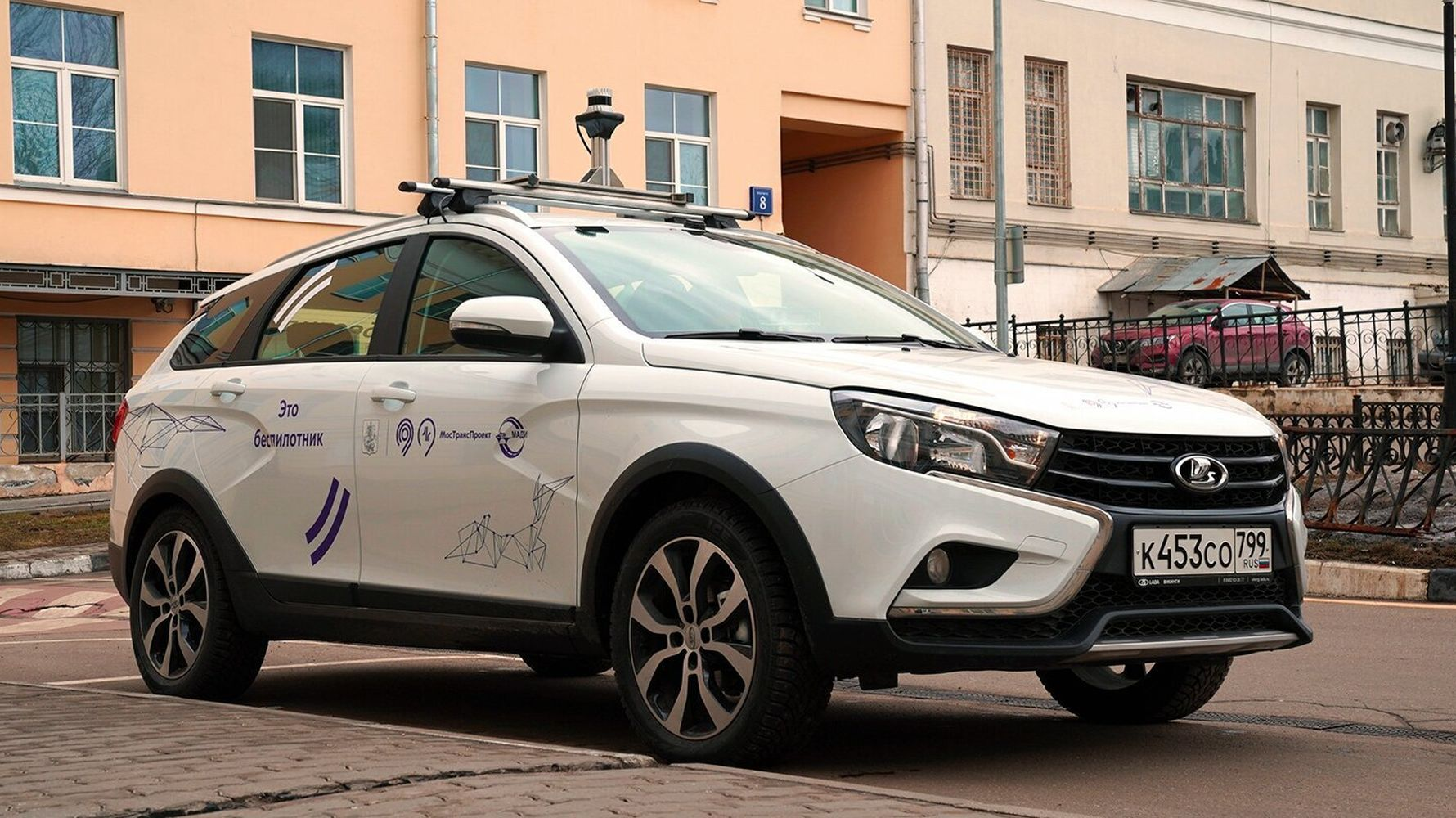 driverless domestic car of russia started to be used in a hospital in moscow