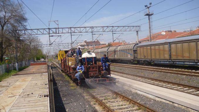 Tcdd yerkoy kayseri kayseri gomec will be sprayed between train stations