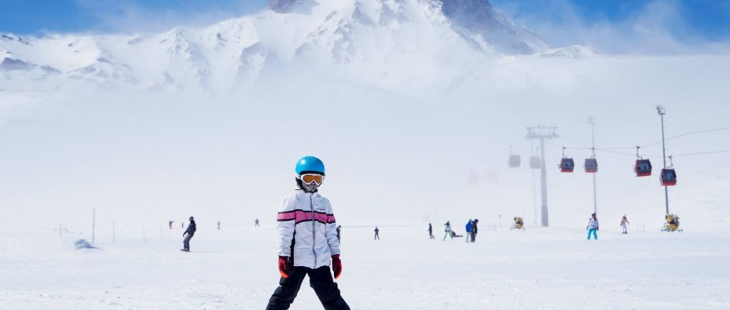 turkiyenin piste skiing enjoyment suruyor leader in Erciyes ski resort