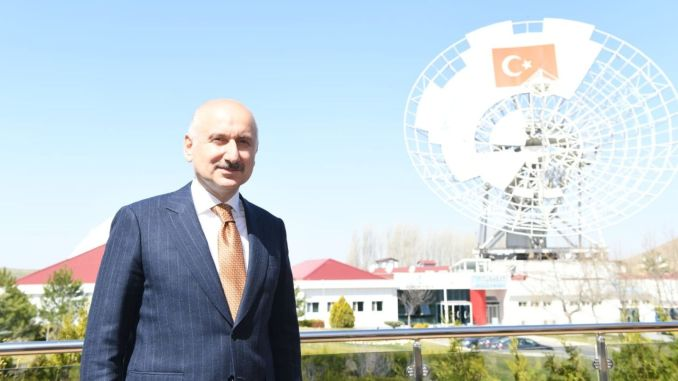 turksat is sitting on its outer space in may