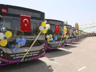 شركة فان توسع أسطولها من مركبات النقل العام