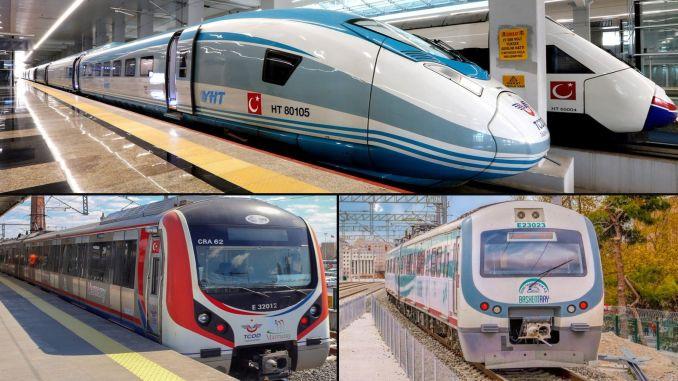 Yht marmaray baskentray and regional train services full closure arrangement