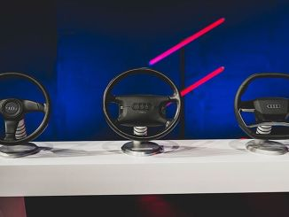 development of more than generation model audi steering wheels