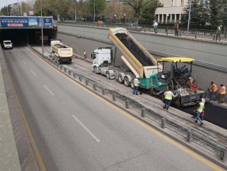 Asphalt Campaign in Complete Closure from Ankara Metropolitan