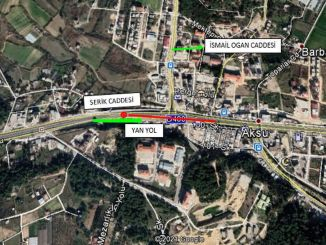 Aksu bridge intersection will be closed to traffic for maintenance