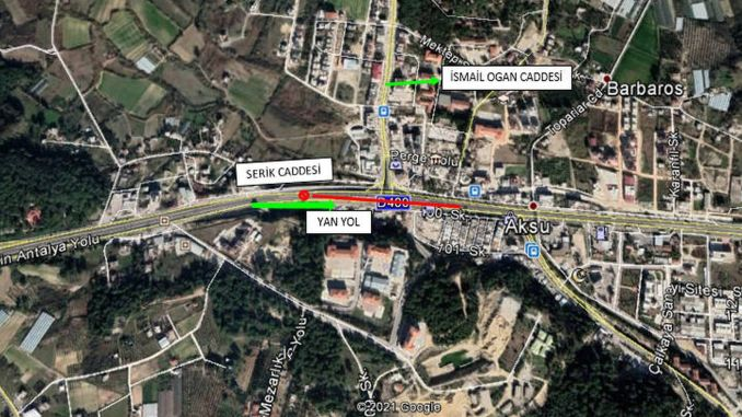 Aksu bridge intersection will be closed to traffic for maintenance