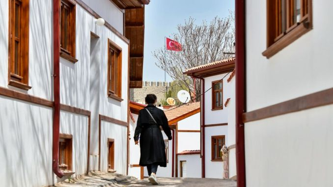 the historical heritage of the ankara castle comes to light