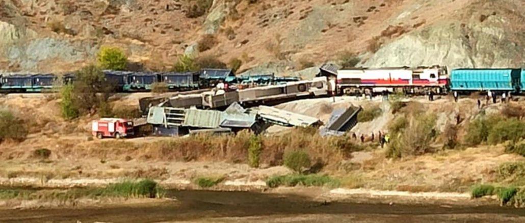 ميكانيكيون إجراميون في حادث اصطدام قطاري شحن في أنقرة