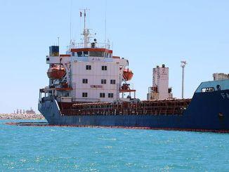 million tusind lira bøde for skibet, der forurener havet i Antalya