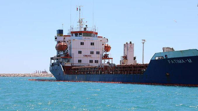 مليون الف ليرة غرامة على الباخرة التي تلوث البحر في انطاليا