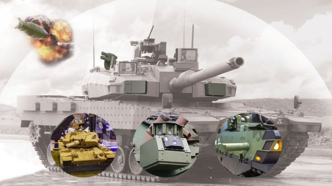 Aselsan kama started the development of active protection system.