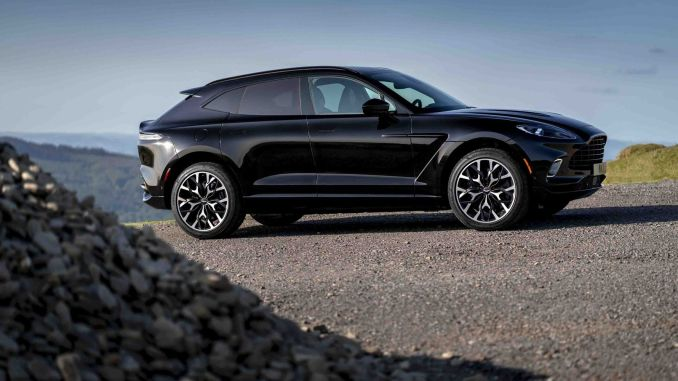 aston martin dbx will grow with new colors