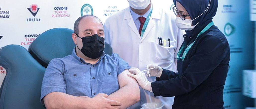 Minister Varank had the second dose of the local rebel, which he participated in the clinical trials.