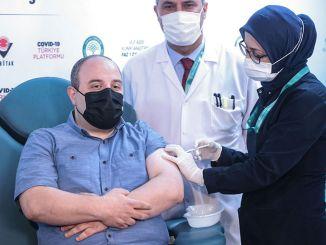 Varank miniszter megkapta a helyi lázadó második adagját, amelyet részt vett a klinikai vizsgálatokban.