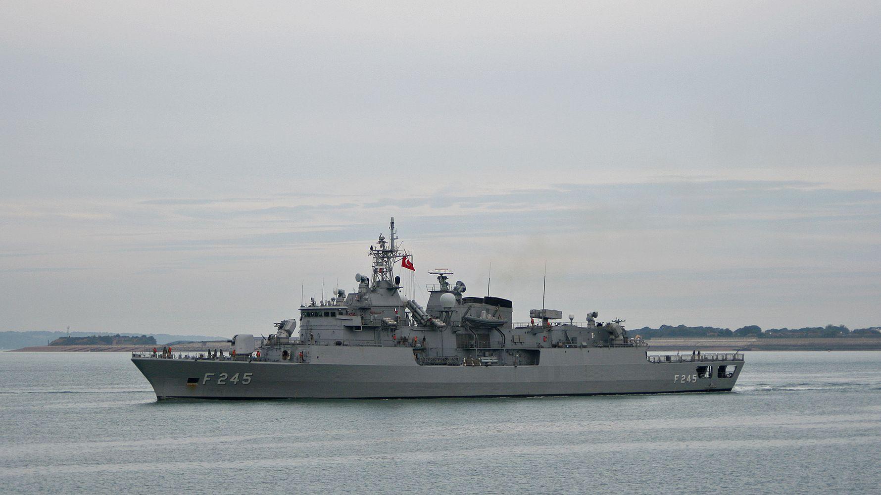 Barbarosse and gabya class frigates modernized with local gyro