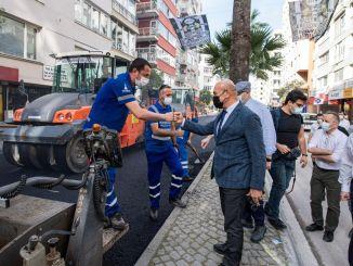 President Soyer Examined Talatpasa Boulevard Asphalt Works