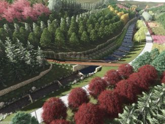 Les travaux du parc écologique de la ville de Bucada Orange Valley se poursuivent rapidement