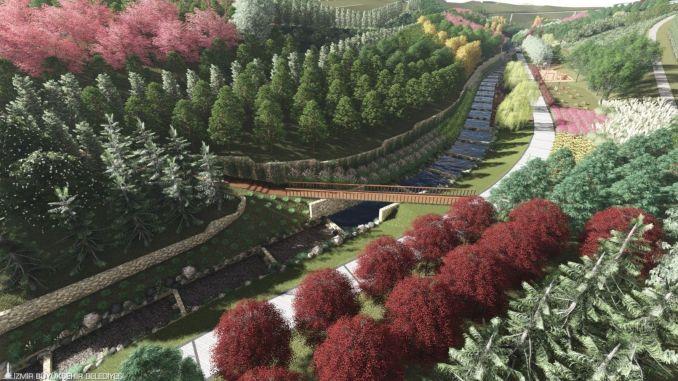 تتواصل أعمال حديقة مدينة بوكادا أورانج فالي البيئية بسرعة