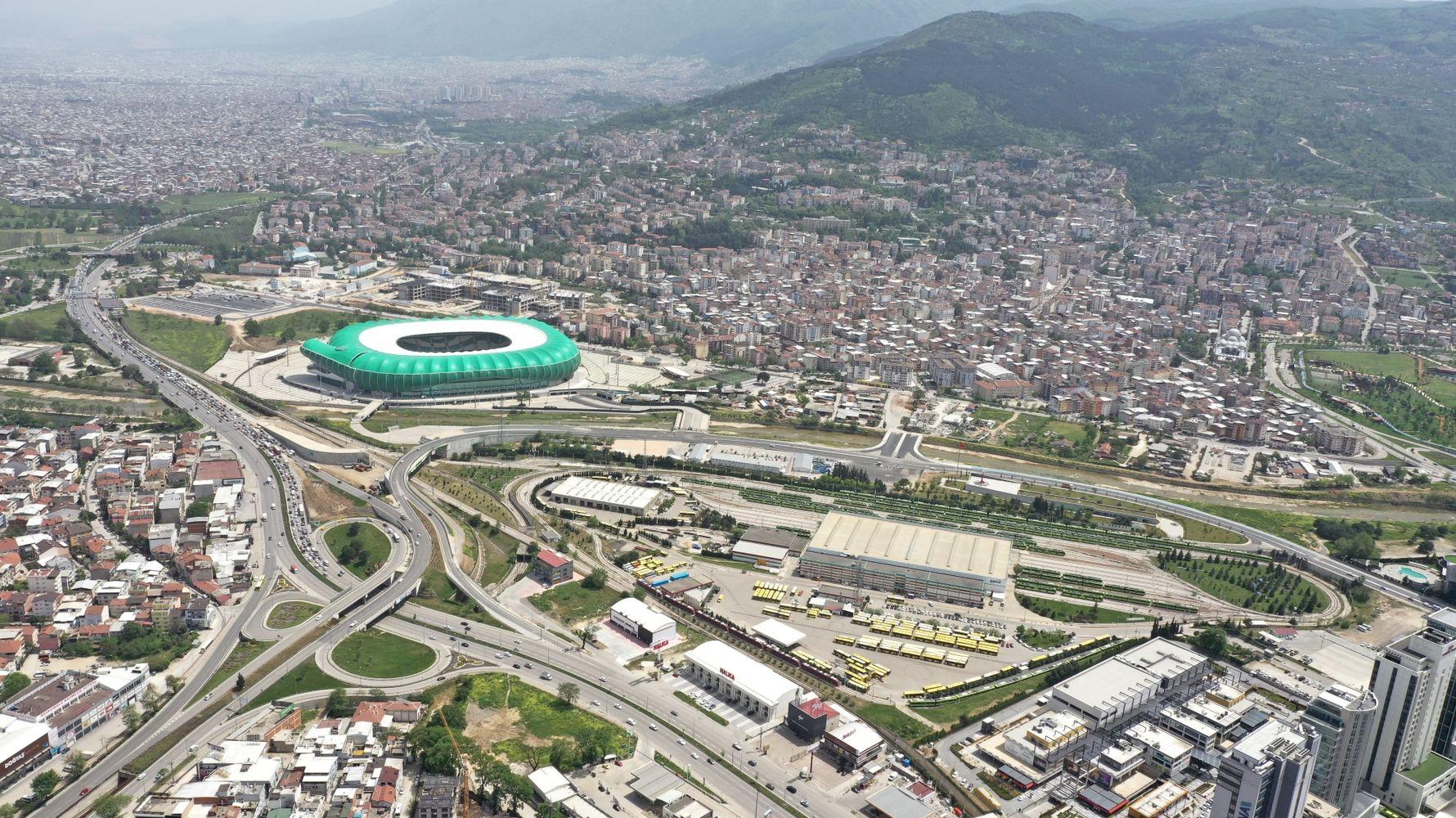 the burden of the Bursa novice crossroads will be alleviated by the new bridge