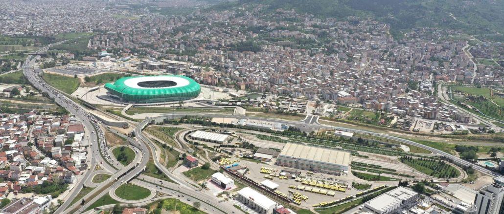 la carga de la intersección de novatos de Bursa se aliviará con el nuevo puente