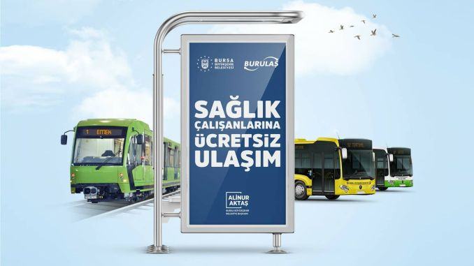 free public transport for healthcare professionals in the bursa extended until june