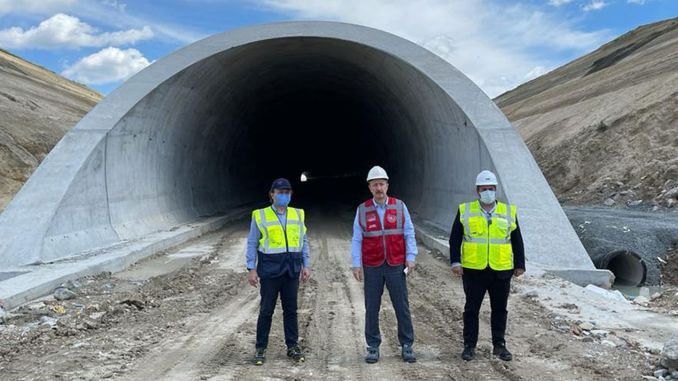 Percent of cerkezkoy kapikule high speed train line is completed