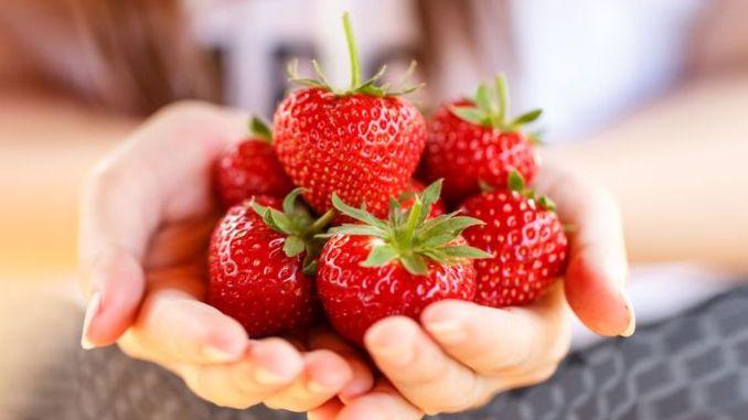 pierde căpșuni de greutate)