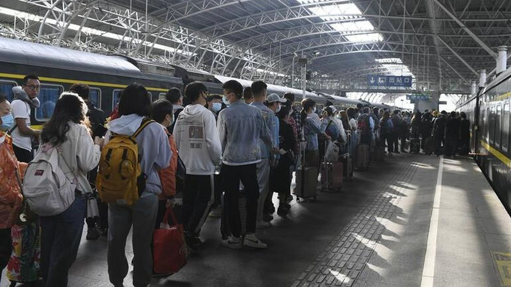 Passenger record on railways on the first day of May holiday in June