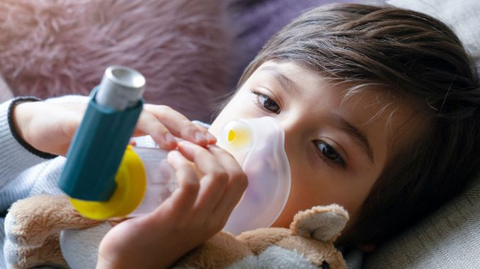 Children's health depends on the quality of the air they breathe