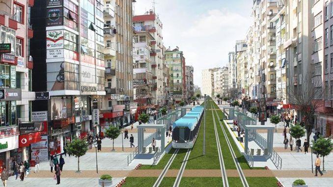 Diyarbakir tecknade kontraktet för projektet för lätta tågsystem