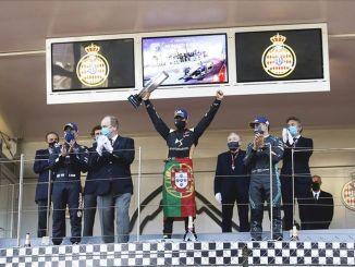 ds team triomphe à Monaco e prix avec antonio felix da costa