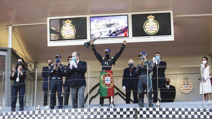 ds team triumphed in Monaco e prix with antonio felix da costa