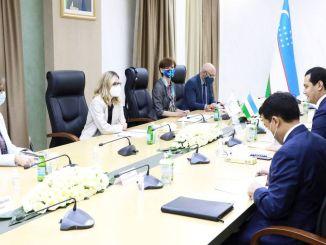 Unterstützung von der Bank der Welt bis zum Grab von Usbekistan, Serif Kabul, Pesaver Railway