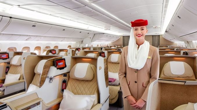 emirates was awarded in three categories, including the best airline in the world