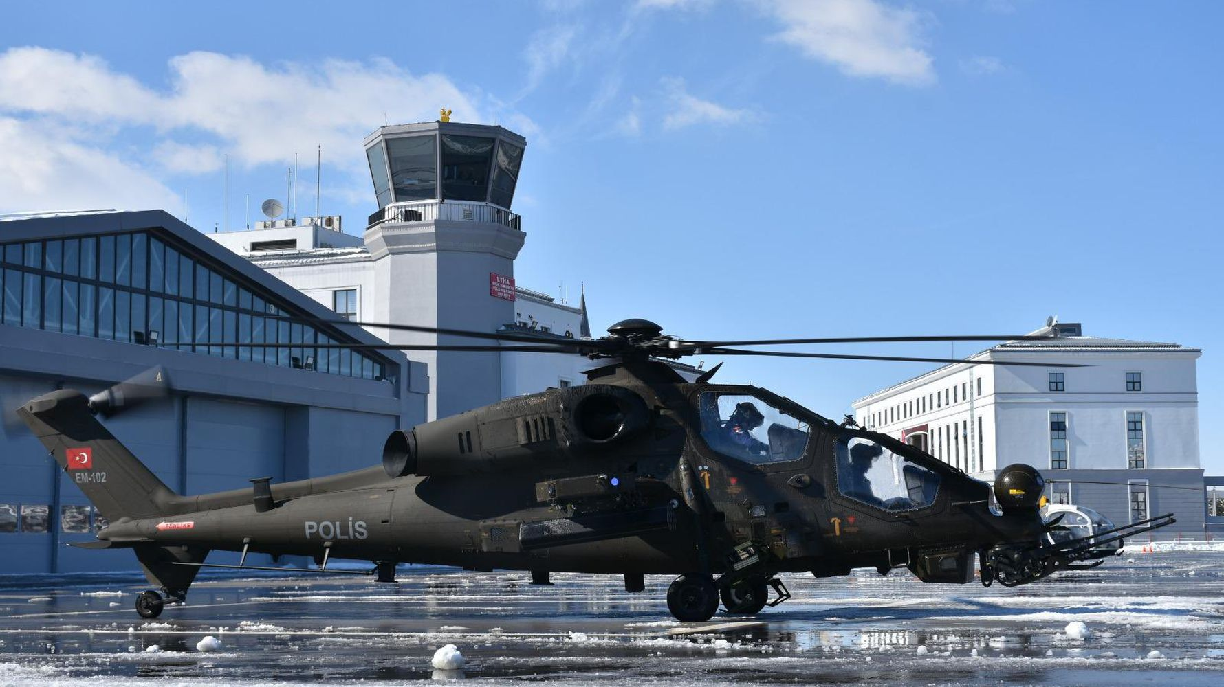 security unit took delivery of the attack phase helicopter