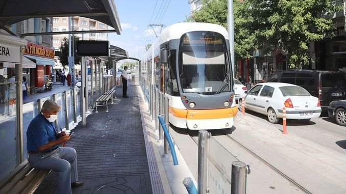 normalization adjustment for tram and bus services in eskisehir