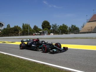 formula megnyeri Lewis Hamiltont a spanyol Grand Prix-n