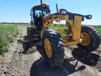 ibb field roads open, farmer earns both time and fuel