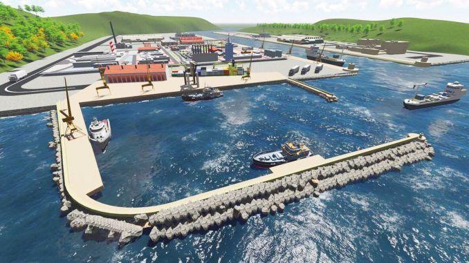 udbudsbekendtgørelse filyos havn jernbane kryds linje rådgivning ingeniørvirksomhed arbejde