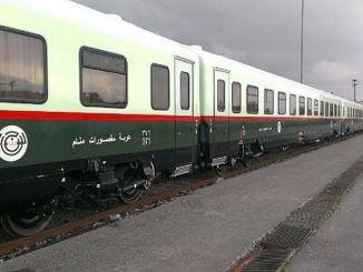 Vogne fremstillet til Irak-jernbaner