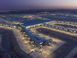 Istanbul airport served approximately million passengers