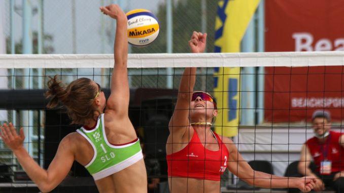 In Izmir beach volleyball, we were happy for men, we were sad about women