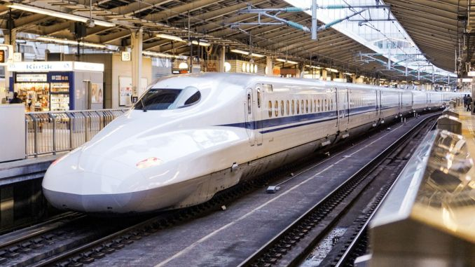 fast train in japan delayed one minute investigation opened about mechanic