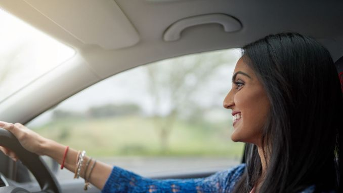 women have fewer traffic accidents than men