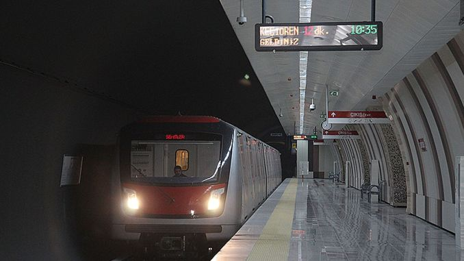 Software renewal work has been completed on the Kecioren metro line