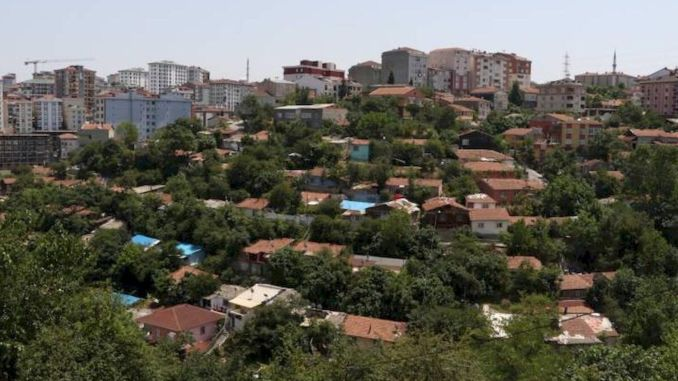 The foundation of kiptas eyupsultan yesil pinar houses will be laid on May