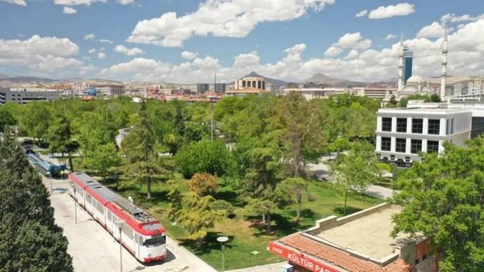 konyanin emektar tramvayi kulturparkta
