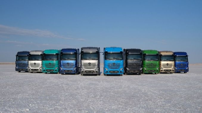 Mercedes Benz Turk continues to support truck drivers